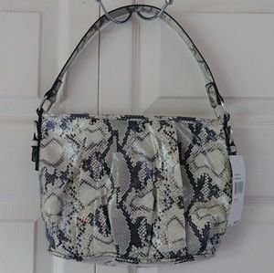 🆕 Nine & Co. hand bag snake NWT pockets Nine West